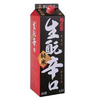 菊正宗 上撰 生酛(きもと)辛口純米酒 1.8Lパック詰
