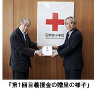 ≪日本がんばろう 義援金寄付内容(累計)≫