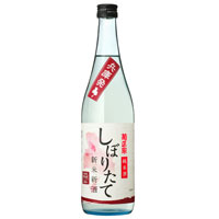 菊正宗 上撰「しぼりたて純米 新米新酒」720ML瓶詰