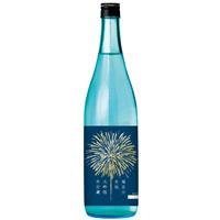 夏の夜空に舞う花火をラベルデザイン 菊正宗 生酛大吟醸・生貯蔵酒720ML 季節限定発売